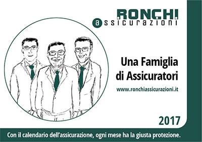 Ronchi Assicurazioni Milano - Cover Calendario 2017